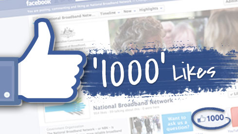 facebook 1000 like