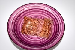 Cheesecake alle pesche e lamponi, farinaeuova