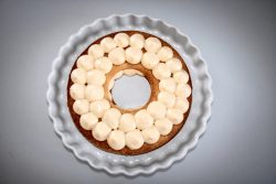 Cream tart alla frutta, farinaeuova