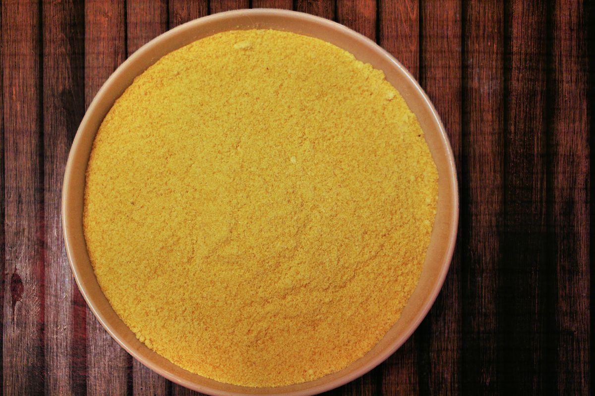 Cuocere la polenta nel microonde