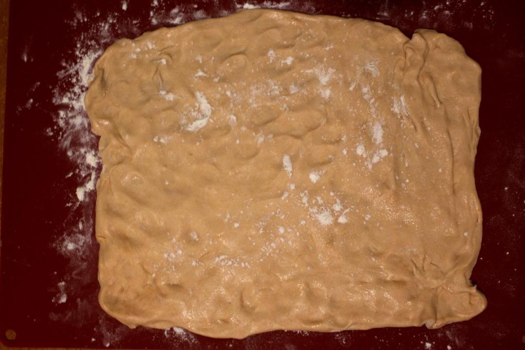 Focaccia con farina di lenticchie