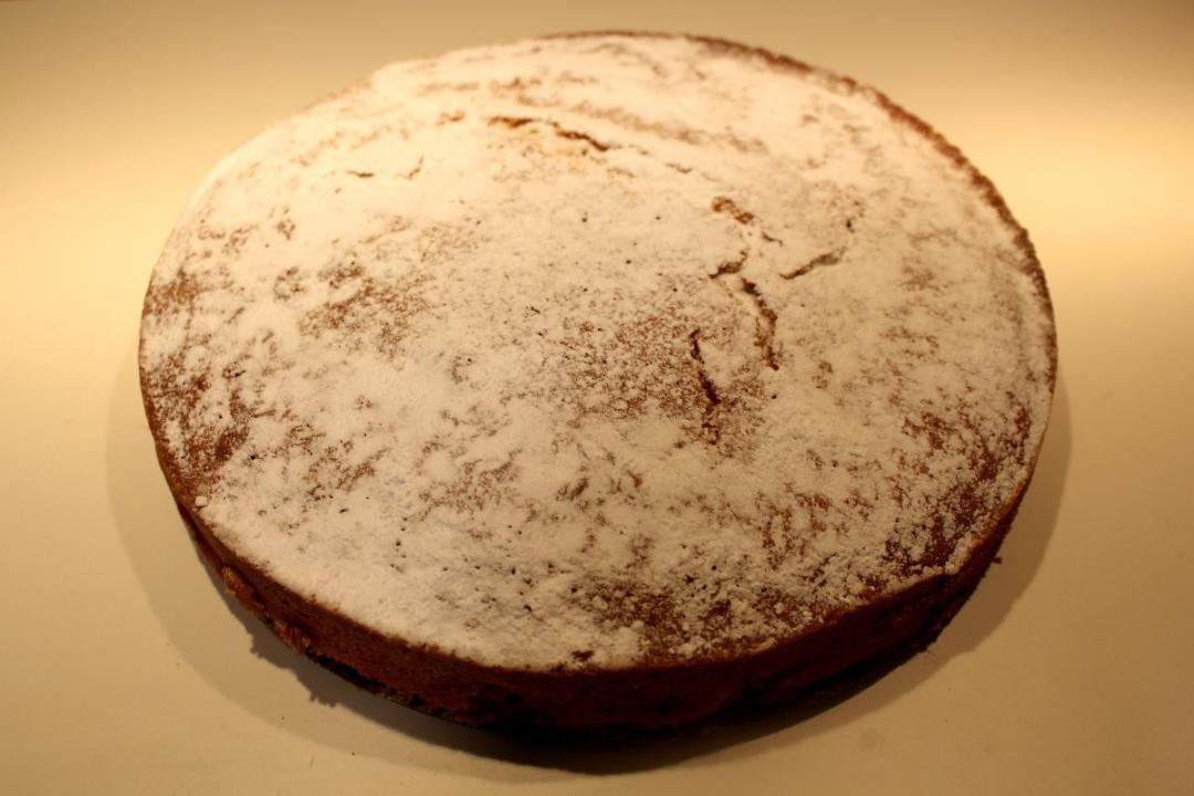 Torta miglio e fragole