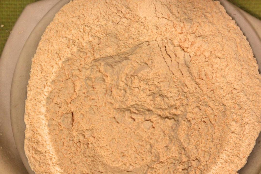 farina di lenticchie rosse