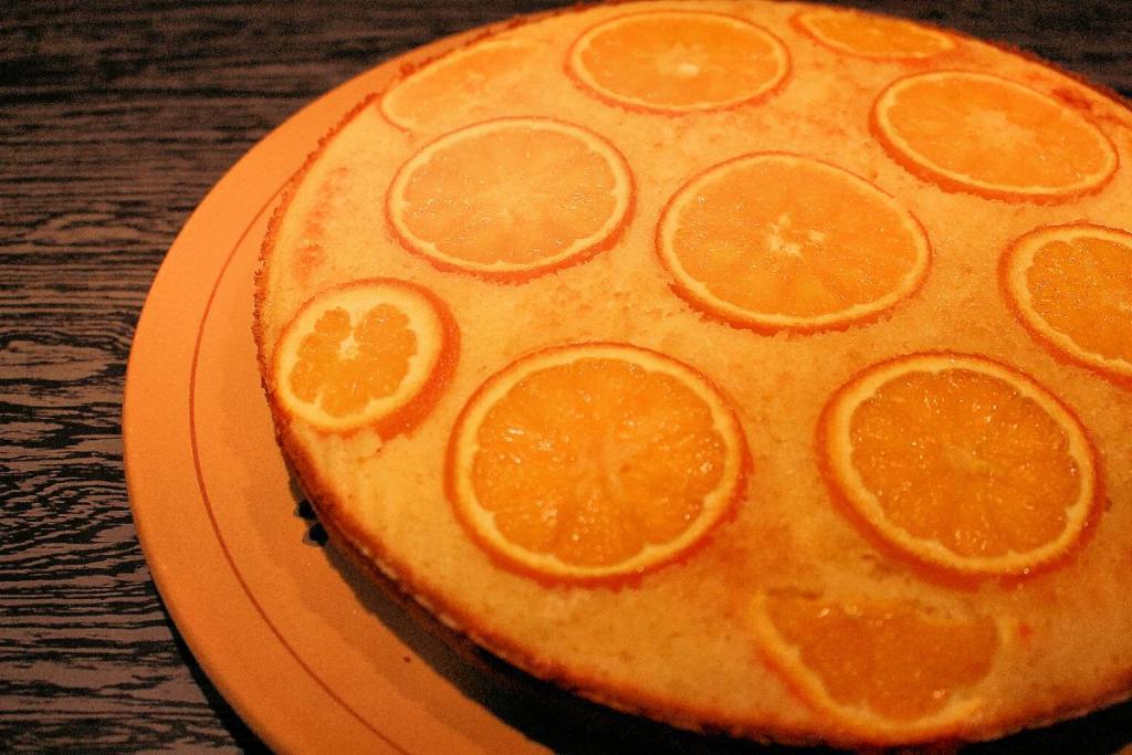 torta di ricotta semola e arancia