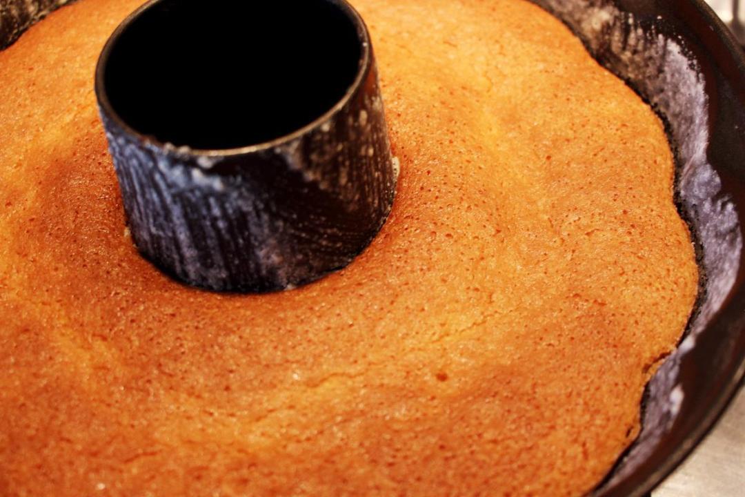 Ciambella farina di riso e limone senza glutine