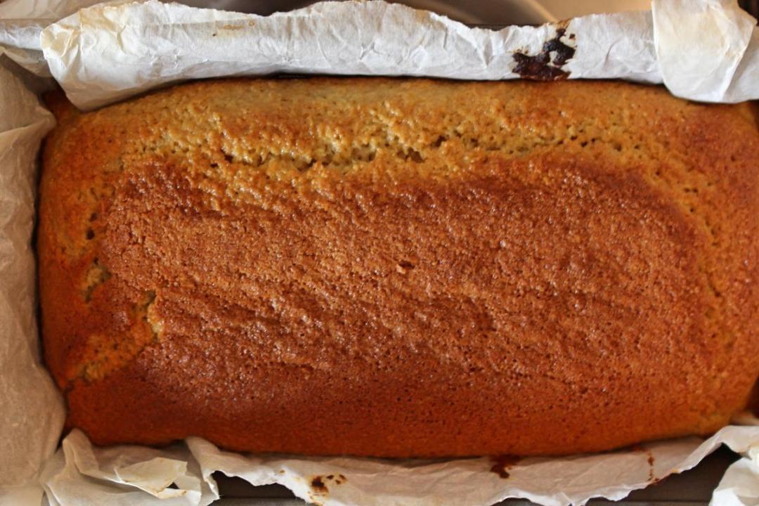 Dolce farina di avena e cocco senza olio e burro