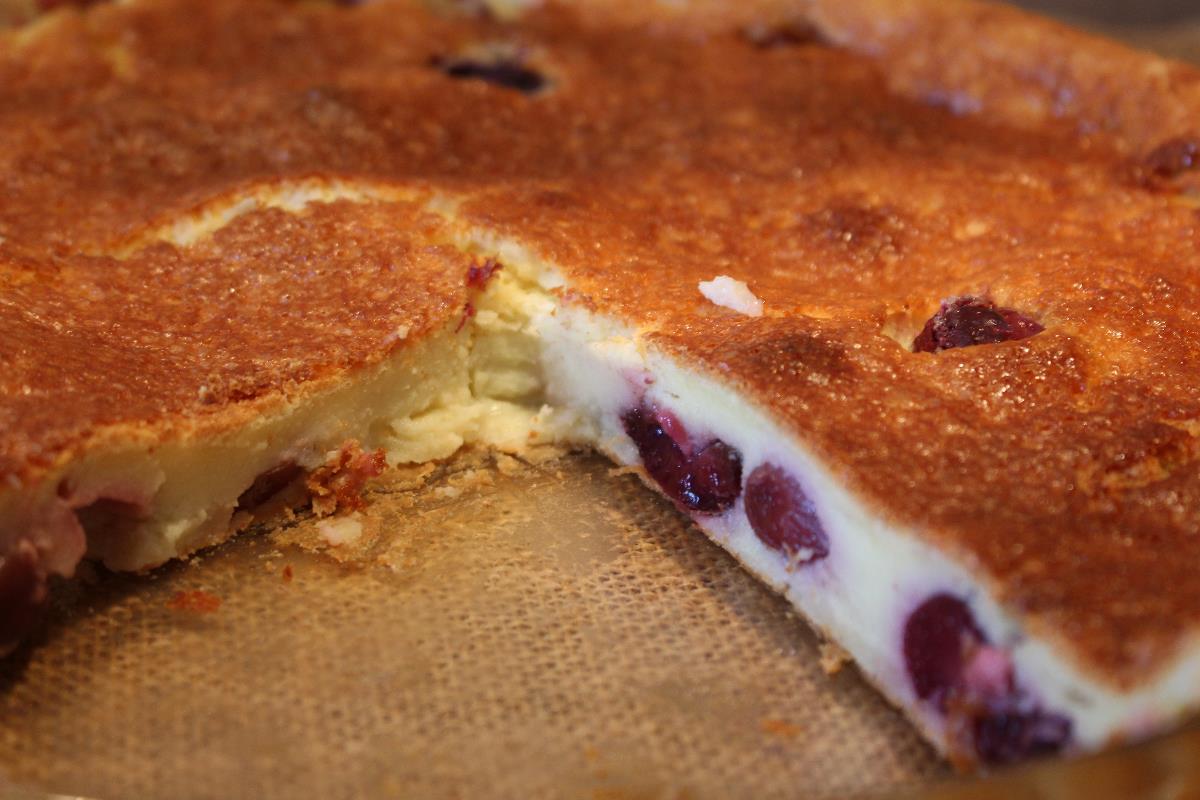 Clafoutis di ciliegie ricetta originale