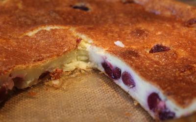 Clafoutis di ciliegie ricetta originale francese