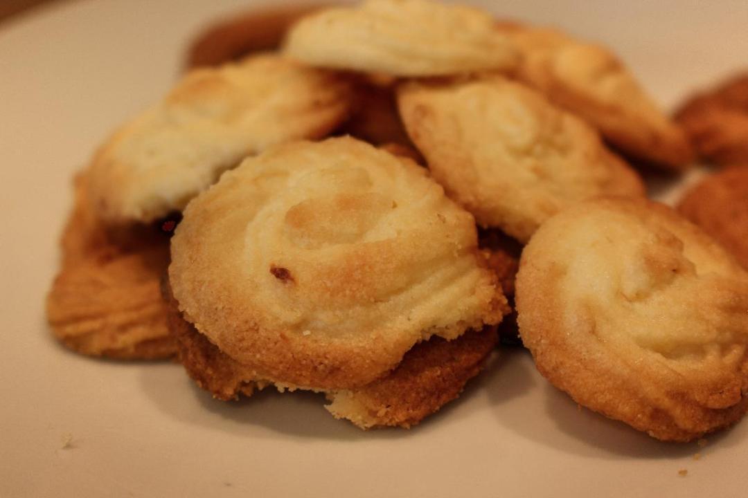 Biscotti farina di riso e limone