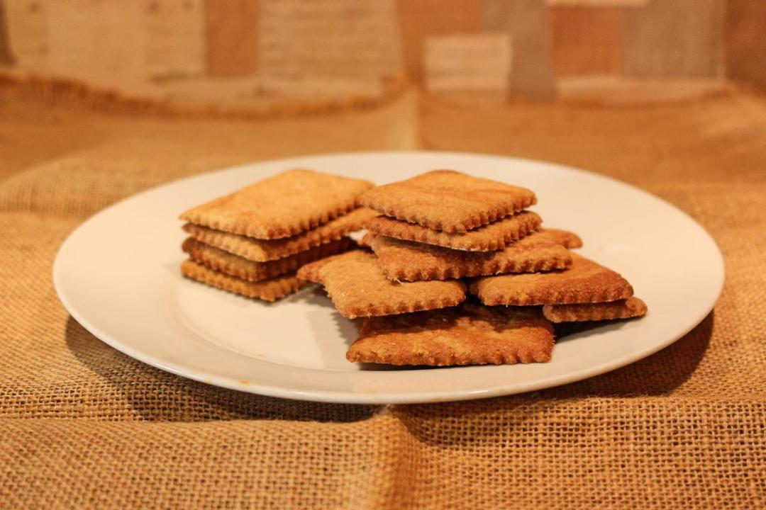 Biscotti farina di orzo e zenzero