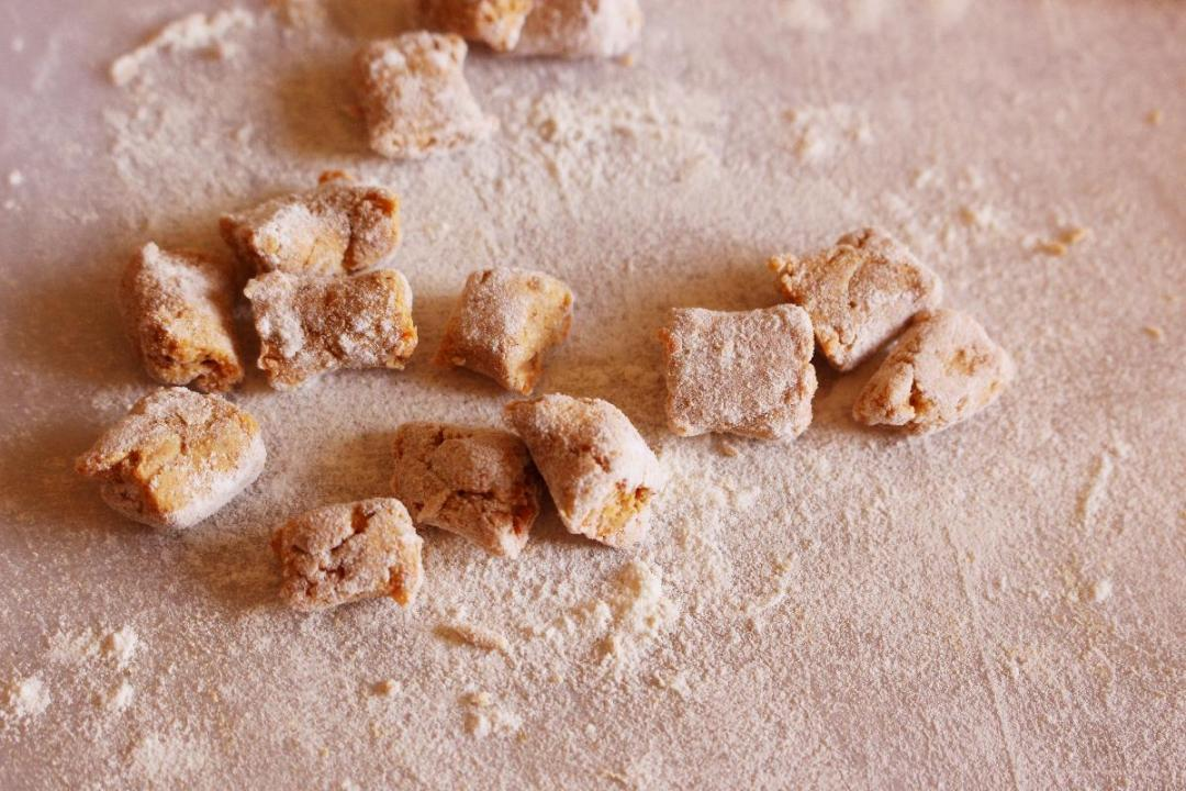 Gnocchi di zucca e farina di grano saraceno