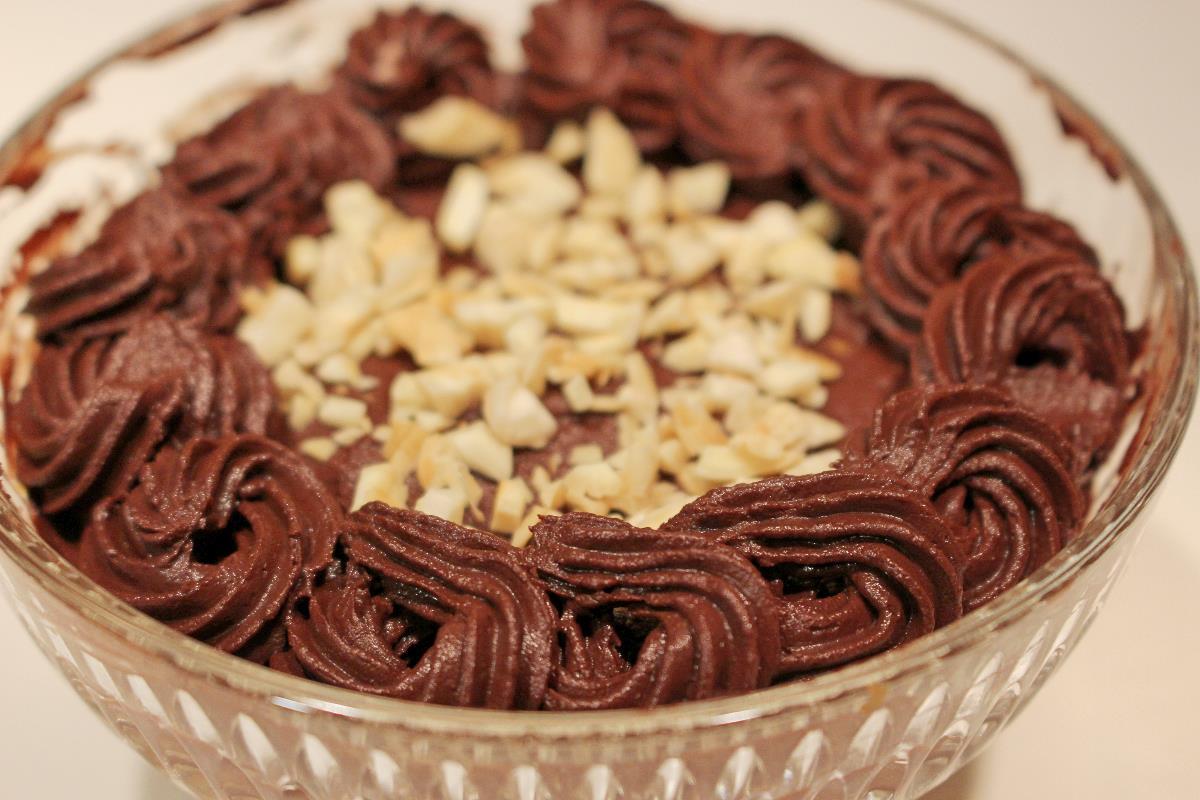 Mousse di ricotta e cioccolato