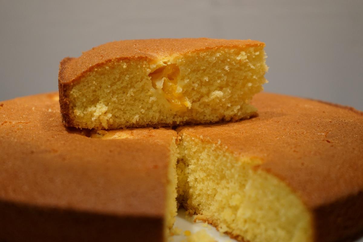 torta ai mandarini con farina di riso