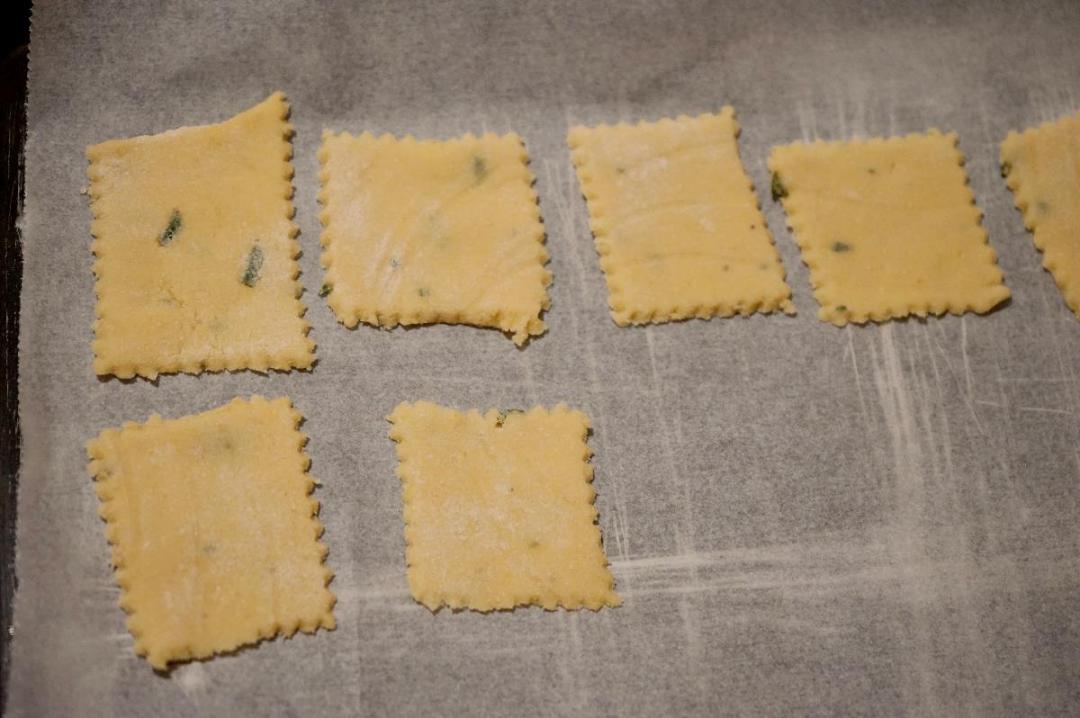 Crackers di riso e ceci