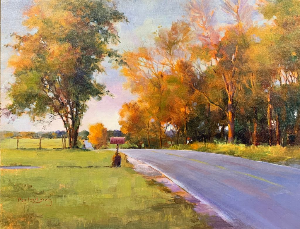 Farm Road Autumn