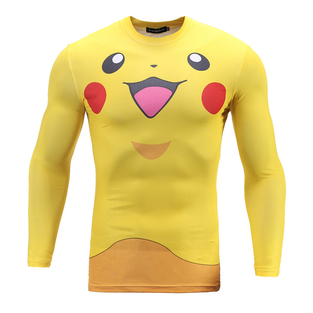 Hot-Mobile-Game-Pokemon-Go-3D-Mens-Long-Sleeve-Tight-Slim-T-Shirt-Pikachu-Funny-Cosplay.jpg_640x640