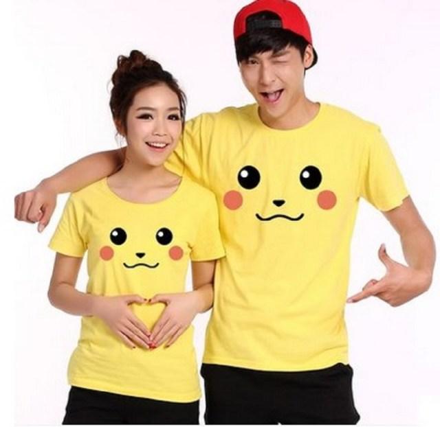 -font-b-Pikachu-b-font-Pokemon-Cute-Tshirt-Men-Women-Summer-Style-Shorts-font-b
