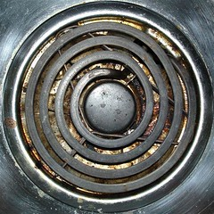 Electric range heating element