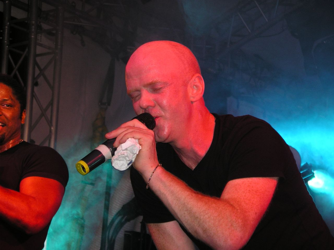 Jimmy Somerville in concert.  Photo by Michael Weiner