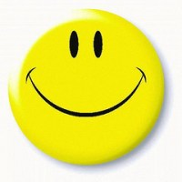 A smiley face, as made by GreyArea and as seen on Flickr