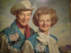 Portrait of Roy Rogers and Dale Evans