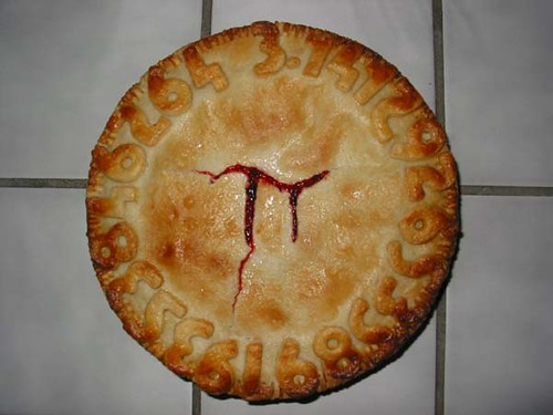 Pi Pie by megpi