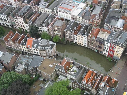 Oudegracht desde el Domtoren