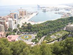 Downtown Malaga