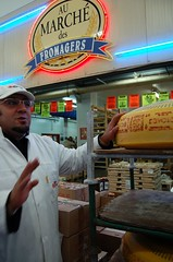 The cheese pavilion at Rungis Market, Paris