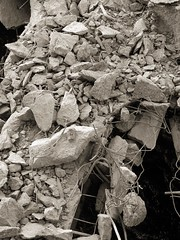 In the end, it all lies in rubble