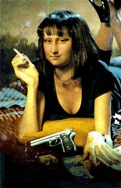 Pulp Fiction Mona Lisa