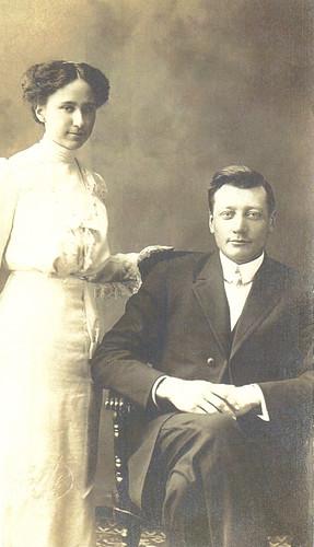 Herman & Bessie Swart, 1912