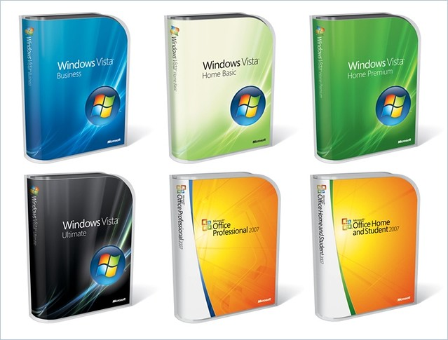 Windows Vista and Office 2007 Packaging and Pricing (3/3)