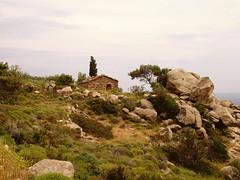 Ikaria 322 (isl_gr (away on an odyssey)) Tags: house architecture hiking ikaria icaria  aegean trails replacement cistus kampos ege    geniiloci trailoftheelves