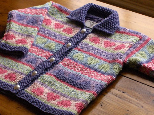 Second Fair Isle Cardigan For Baby