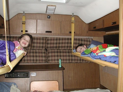 Happy sleepy kids