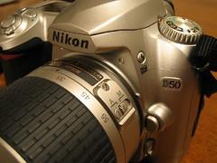 It's NEW!! Nikon D50