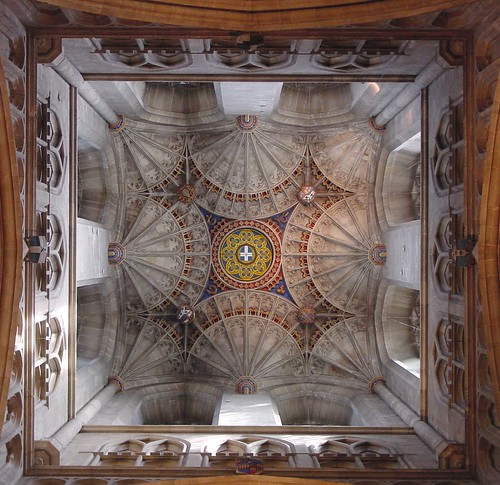 Square composition, Central Tower, Canterbury Cathedral: archdiave on Flickr (click image)