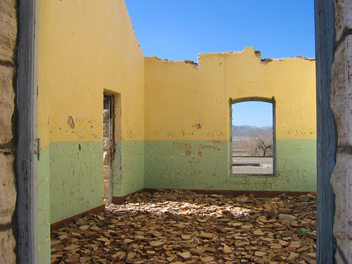 Abandoned Train Station in San Juan Province, Argentina by redteam