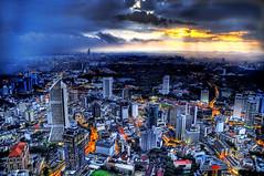Sunset Storm over Kuala Lumpur