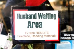 Husband Waiting Area
