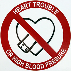 HEART TROUBLE OR HIGH BLOOD PRESSURE
