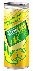Green Card Drink