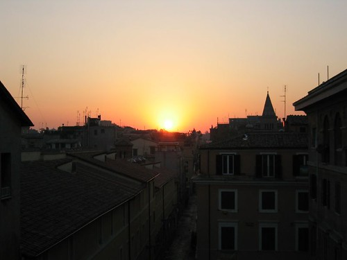 Sunrise in Trastevere