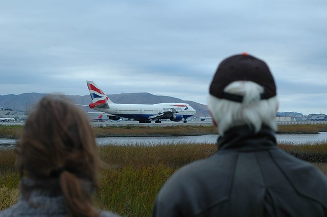 Watching the Planes at SFO