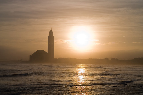 Casablanca at sunset - by Milamber (via Creative Commons)