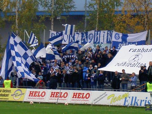 HJK supporters
