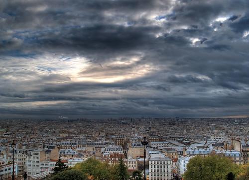Der Blick von Sacre Coeur Paris, Reisebericht