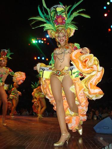 Bailarina de tropicana