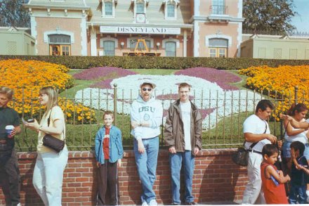 tom and boys Disney 2002